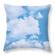 Swiss Lanes Throw Pillow