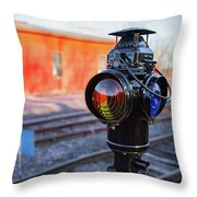 Switch Lamp Throw Pillow
