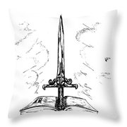 Sword Of The Spirit Throw Pillow