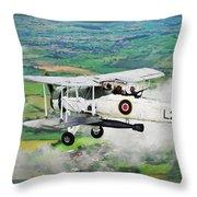 Swordfish Aircraft 2 Throw Pillow