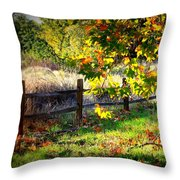 Sycamore Grove Series 11 Throw Pillow