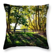 Sycamore Grove Series 12 Throw Pillow