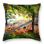 Sycamore Grove Series 8 Throw Pillow