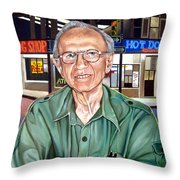 Syd Simon  Throw Pillow