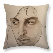 Syd The Crazy Diamond Throw Pillow