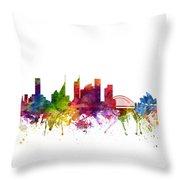 Sydney Australia Cityscape 06 Throw Pillow