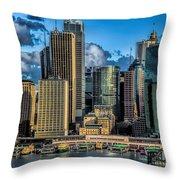 Sydney Australia Throw Pillow
