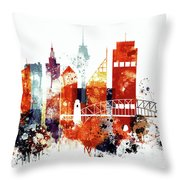 Sydney Cityscape Throw Pillow