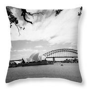 Sydney Harbour Throw Pillow