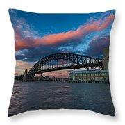 Sydney Moments Throw Pillow