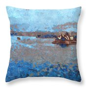 Sydney Opera House From A Distance Throw Pillow