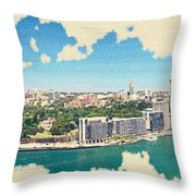 Sydney Serenade Throw Pillow