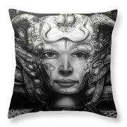 Syfy- Geiger Li Throw Pillow