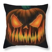 Syfy- Jackolantern Throw Pillow