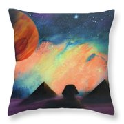 Syfy- Pyramids Throw Pillow