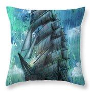 Syfy- Ship Throw Pillow