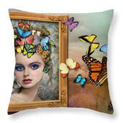 Sylph II Throw Pillow