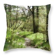 Sylvan Joy Throw Pillow