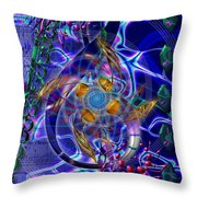 Symagery 20 Throw Pillow