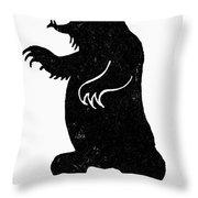 Symbol: Bear Throw Pillow