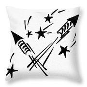 Symbol: Independence Day Throw Pillow