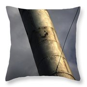 Symbol Of Progress Throw Pillow