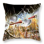 Symbol Of Spring Throw Pillow