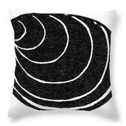 Symbol: Silence Throw Pillow