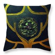 Symbol Throw Pillow
