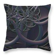 Symbolic Energy Throw Pillow