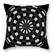Symbolic Kay  Throw Pillow