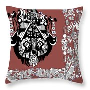 Symbology Throw Pillow