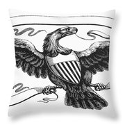 Symbols: American Eagle Throw Pillow