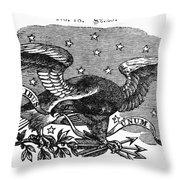 Symbols: Eagle Throw Pillow