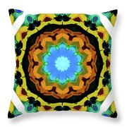 Symbols Throw Pillow