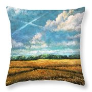 Symbols Of Hope And Eternity Throw Pillow