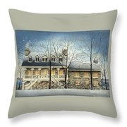 Symmes' Inn Throw Pillow