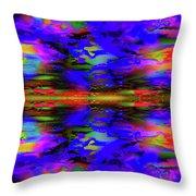 Symmetrical Reflection Throw Pillow
