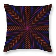 Symmetry 15 Throw Pillow