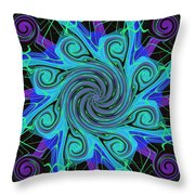 Symmetry 21 Throw Pillow