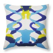 Symmetry 23 Throw Pillow