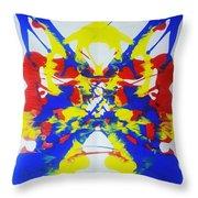 Symmetry  25 Throw Pillow