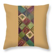 Symmetry In The Storm Throw Pillow