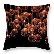 Symphony In The Dark Throw Pillow