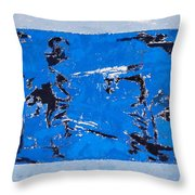 Symphony No. 8 Movement 15 Vladimir Vlahovic- Images Inspired By The Music Of Gustav Mahler Throw Pillow