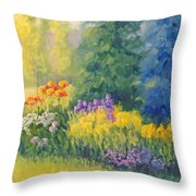Symphony Of Summer Throw Pillow