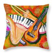 Symphony Of The Soul Throw Pillow