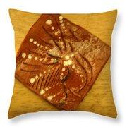 Symptom - Tile Throw Pillow