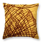 Symptoms - Tile Throw Pillow