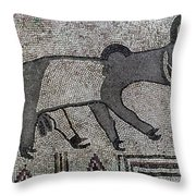 Synagogue, 6th Century Throw Pillow